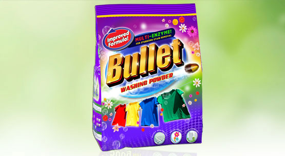 Bullet Detergent Powder and Paste Retailers in Zambia